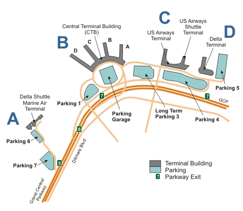 Together, LaGuardia Airport (LGA), JFK, and Newark Liberty Airport form the busiest airport system in the United States. Finding parking amidst all the hustle and bustle can be a real challenge.